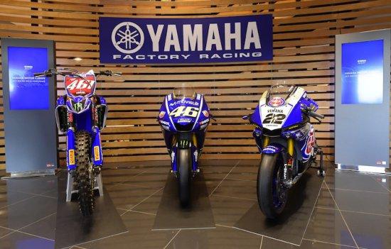 Цветове, надежди и очаквания: Yamaha показа машините за 2017-та в MXGP, WorldSBK и др.