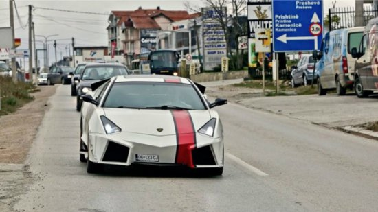"Косовар си направи сам ""Lamborghini"""