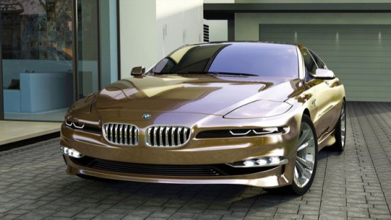 BMW възстановява 8-series като конкурент на купето Mercedes S-class