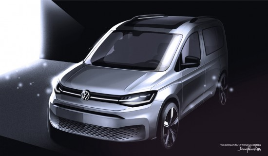 Volkswagen разпространи нови скици на изцяло новото поколение на хитовото си