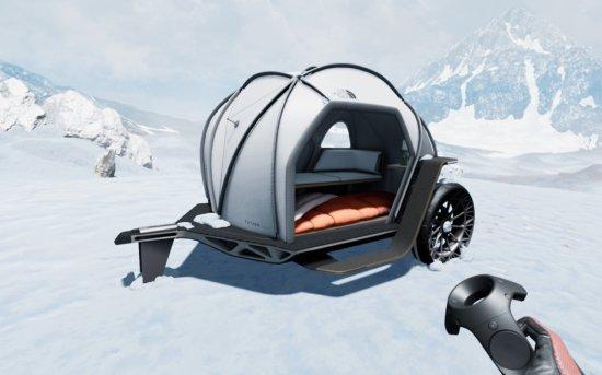 Снимка: BMW Group и The North Face с визия за караваната на бъдещето