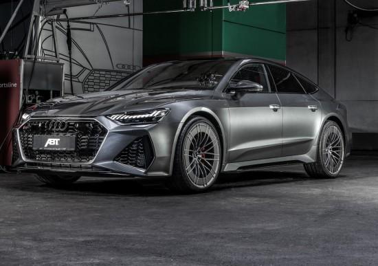 Поредната доработка на тема Audi на тунинг специалиста ABT ни дава
