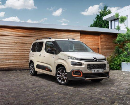 Източник: Като създател на сегмента лекотоварни автомобили през 1996 г., Citroën