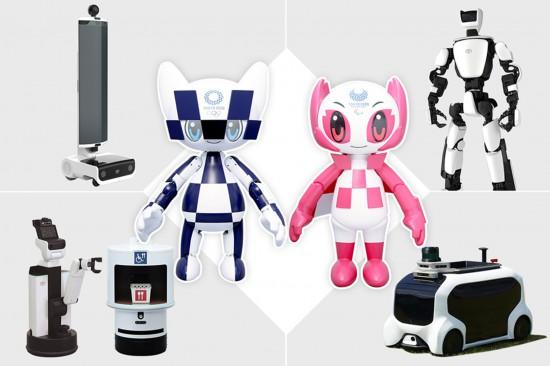 Снимка: Toyota, роботите и Олимпиадата