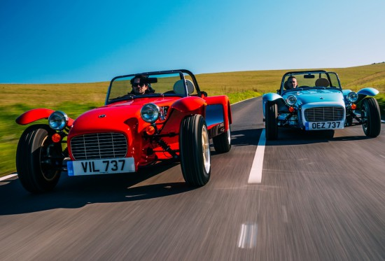 В официално изявление, легендарната английска марка Caterham Cars обяви, че е