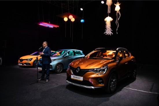 Изключително визуално представяне на част от най-новите модели от гамата на Renault