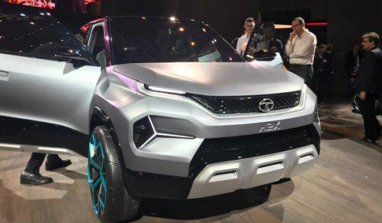 Tata Motors представи концептуалната си разработка H2X Concept на автосалона в