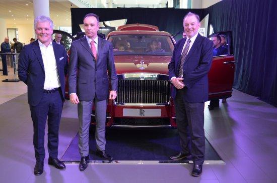 По случай оторизирането от страна на Rolls-Royce Motor Cars на М