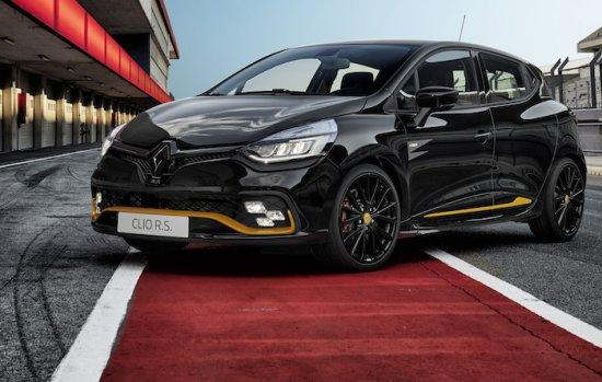 Renault Sport анонсира пазарното лансиране на нова специалната лимитирана серия Renault Clio