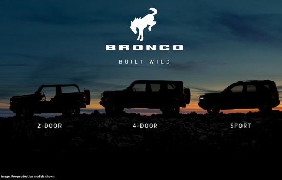 Днес Ford разкри нови подробности за изцяло новото поколение BRONCO, което