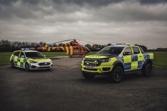 Снимка: Ford Ranger Raptor и Focus ST кандидати за английската полиция