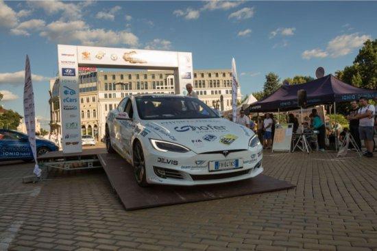 В Еко Рали България 2018, шести кръг от Световната Е- Регуларити