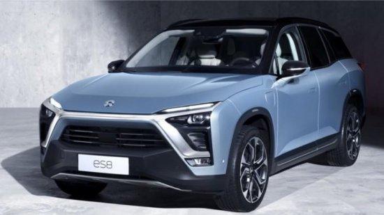 В Китай стартираха продажбите на новия електрически кросовър NIO ES8 2018.