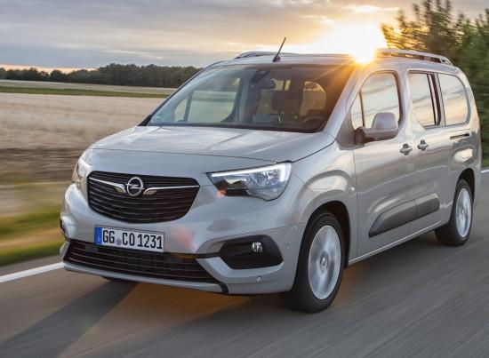 Снимка: Opel Combo Life получи нов бензинов мотор и автоматична трансмисия