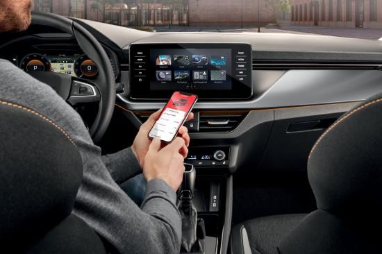 SKODA обяви лансирането на ново приложение за мобилни телефони (Android и