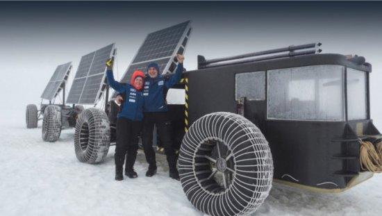 Холандците Лизбет и Едвин тер Велде са построили необикновенно транспортно средство с