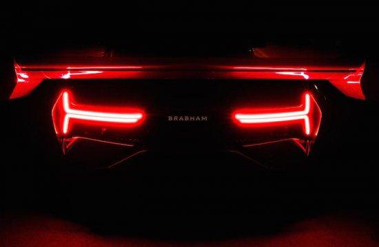 Днес Brabham Automotive разпространи първата официална снимка и технически параметри на изцяло
