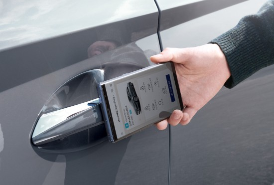 Снимка: Дигитален ключ за новия Hyundai Sonata