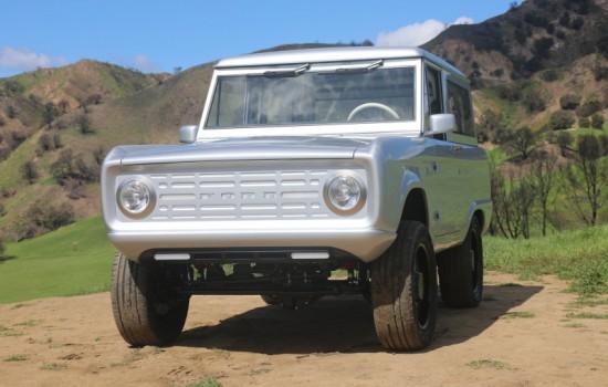 Снимка: Ford Bronco стана електромобил - видео