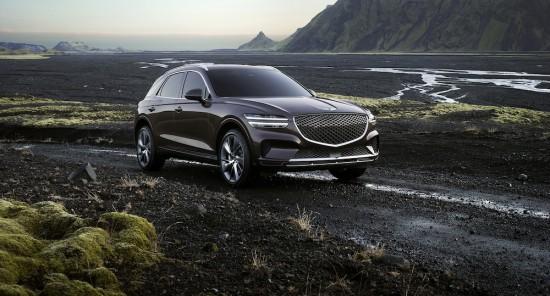 Genesis разпространи първата официална информация за петото си пазарно и второ SUV