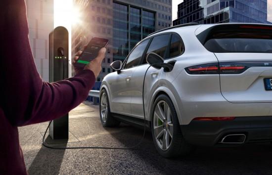 Снимка: Porsche с данни за повече от 49 000 зарядни станции за електрическите си автомобили