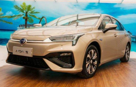 """Снимка: Поредният китайски """"убиец"""" на Tesla Model 3 - GAC Aion S?"""