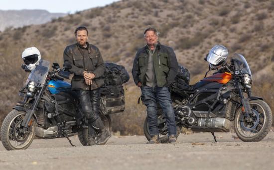 Apple TV+ разкри първите подробности за новата мотоциклетна приключенска поредица LONG WAY
