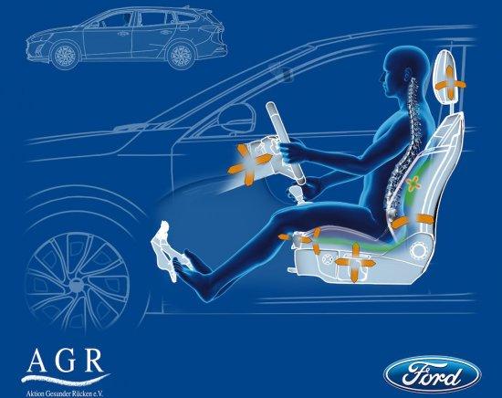 Ford обяви, че предните две седалки на новото поколение Focus са
