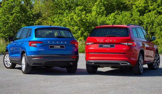 SKODA разкри първите подробности за обновените версии на хитовите си SUV модели