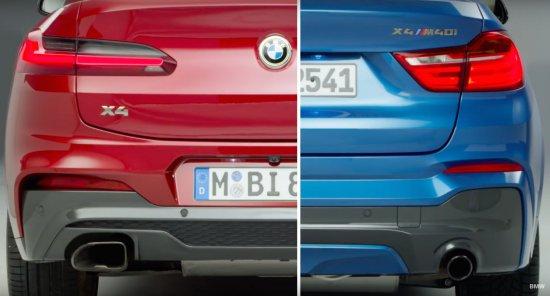 BMW разпространи интересно видео, в което акцентира върху част от основните разлики,