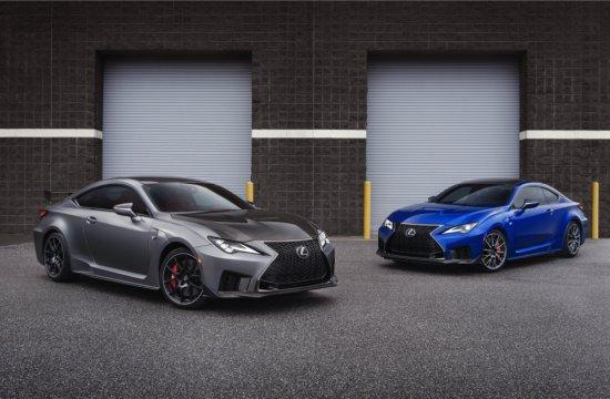 Обновената версия на Lexus RC F получи специална суперспортна лимитирана версия Track