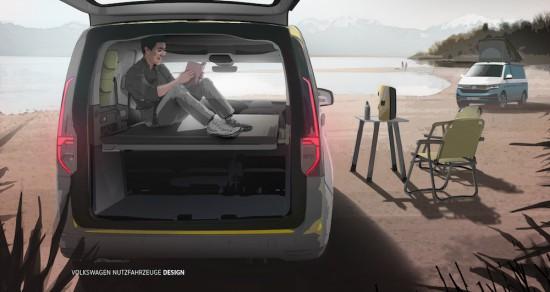 Лекотоварното подразделение на Volkswagen- Volkswagen Commercial Vehicles, разпространи първата информация за изцяло