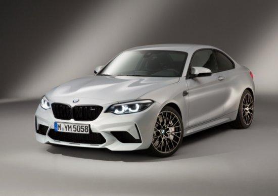 Източник: С новото BMW M2 Competition (среден разход на гориво с