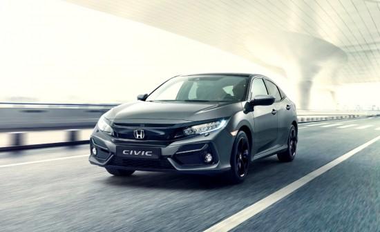 Снимка: Honda приятно модернизира Civic