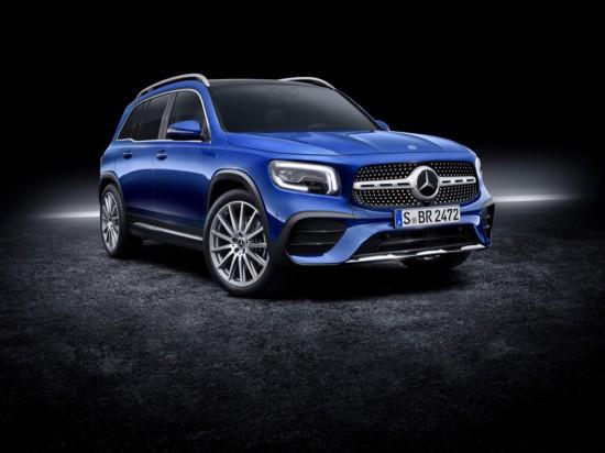 Mercedes-Benz разпространи първата информация за новото си пазарно предложение- седемместен SUV модел