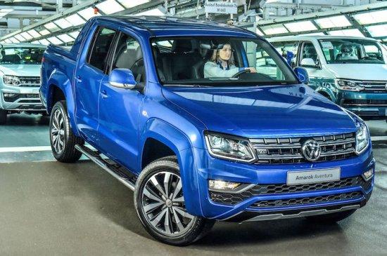 Volkswagen обяви, че лекотоварното й подразделение е стартирало производството на новата топ-версия