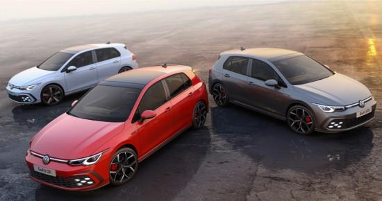 Volkswagen разпространи първите официални изображения и подробности за версиите GTI, GTE и