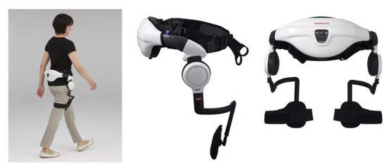 Снимка: Уникалният асистент за подпомагане на ходенето Honda Walking Assist Device с одобрение и от американската FDA