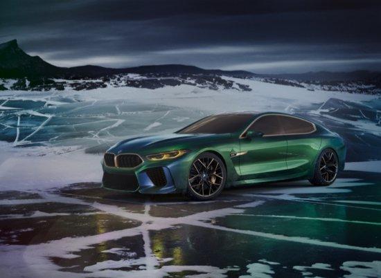 Източник: BMW Concept M8 Gran Coupé показва по впечатляващ начин какво