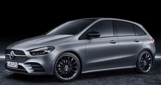 Daimler показа модела за 2019-а година на Mercedes B-Class по време