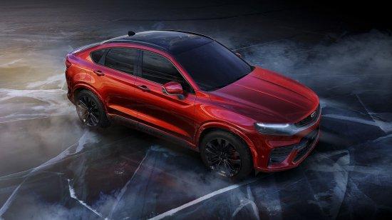 Китайският автомобилен гигант Geely разпространи първите три изображения на изцяло новия си