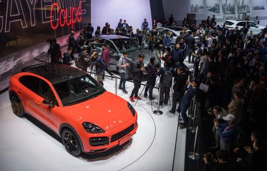 Снимка: Автосалон Шанхай 2019: Световна публична премиера за Porsche Cayenne Coupe