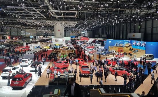 """Според организатора 90-то международно автомобилно изложение в Женева (GIMS) е """"един от"""