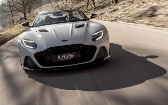 Aston Martin разпространи информация за новия DBS Superleggera Volante, за който