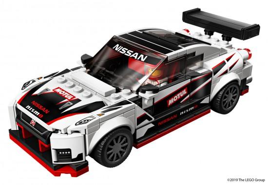 Снимка: GT-R NISMO: Първото сътрудничество между Nissan и LEGO