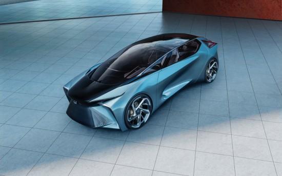 По време на автомобилното изложение в Токио, Lexus демонстрира виждането си