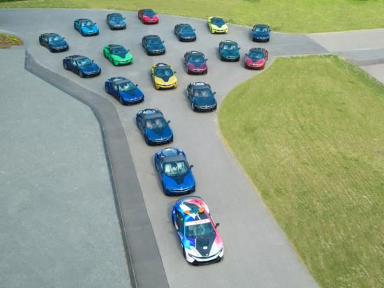 BMW обяви, че последните 18 екземпляра на спортния модел i8 са
