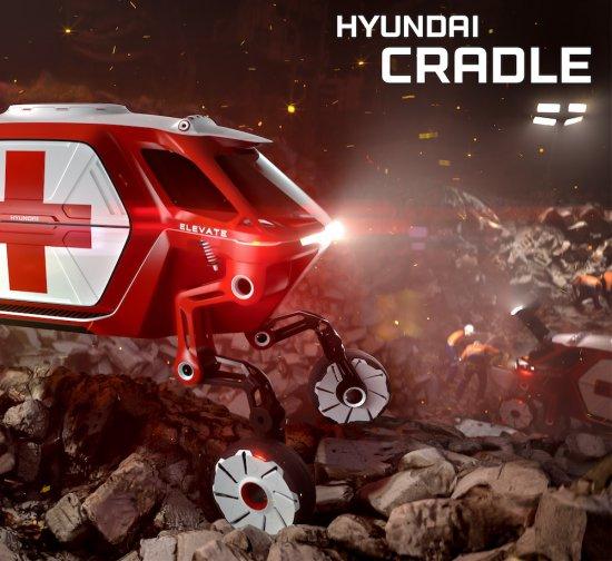 Снимка: CES 2019: Hyundai с футуристична всъдеходна разработка