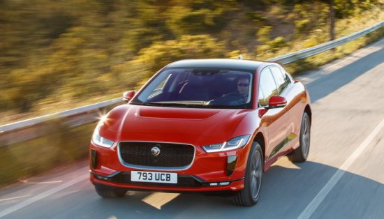 Изцяло електрическият и първи по рода си автомобил на Jaguar- I-PACE,