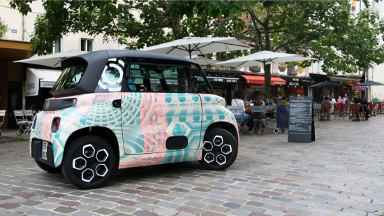 CITROEN отбелязва година пазарно присъствие на уникалното си решение за градска мобилност,